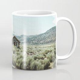 Old house in desert Coffee Mug