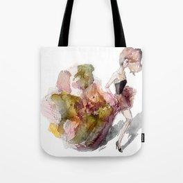 Autumn Girl  Tote Bag