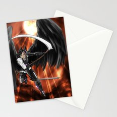 Blood Moon Reaper Stationery Cards