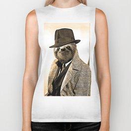 Gentleman Sloth 9# Biker Tank