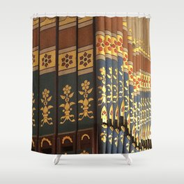 Colourful Music Shower Curtain