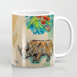 English alphabet, Yak Coffee Mug