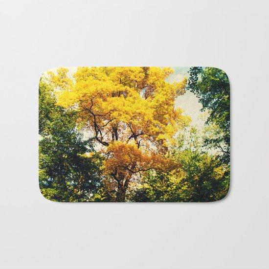 fall in Central Park Bath Mat