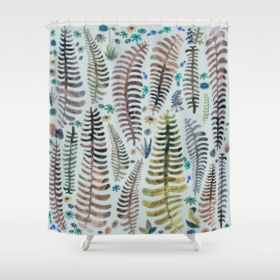 Nature Shower Curtains fantasy nature shower curtainfranciscomffonseca | society6