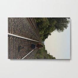 A Long Road Metal Print