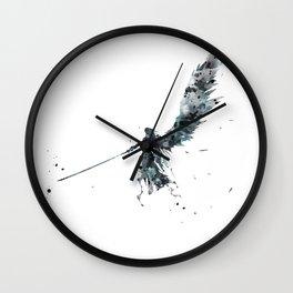 Final Fantasy Watercolor Wall Clock