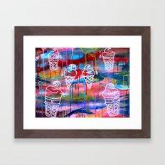 Creamscape Framed Art Print