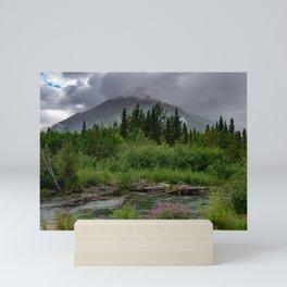 Alaskan Summer Rain Clouds, Kenai_Peninsula Mini Art Print