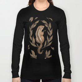 The Chipmunk and Bay Laurel Long Sleeve T-shirt