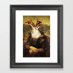 Monalope Framed Art Print