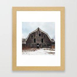 Support Groups for Children Allegedly Born in Barns Framed Art Print