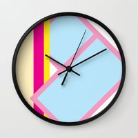 deco Wall Clocks featuring Deco by Espenbke