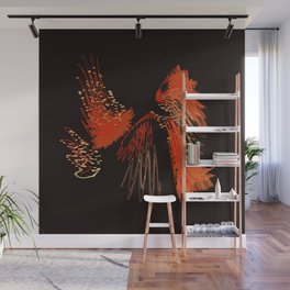 I Juggle a Torch For You Wall Mural