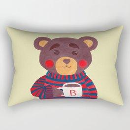 Winter Season is Coming (Bear Version) Rectangular Pillow