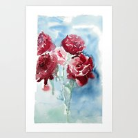 Peonies 2 Art Print