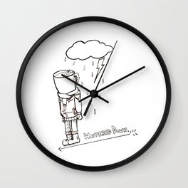 Coffee Bloke Wall Clock