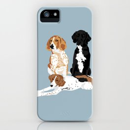 Elvis, Judd and Glory Bea iPhone Case