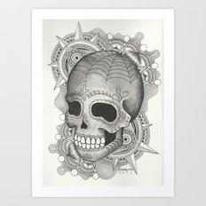 Dia De Muerto - Explosion Art Print