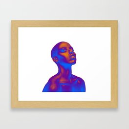 Colored Summer Framed Art Print