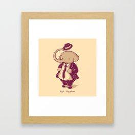 Eleg-phant Framed Art Print