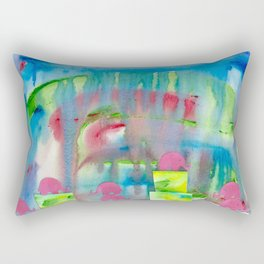 4 Penny the Pink Elephant Rectangular Pillow