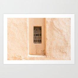 Windows - Sahara Desert, Morocco Art Print