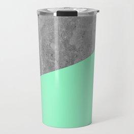 Geometry 101 Mint Meringue Travel Mug