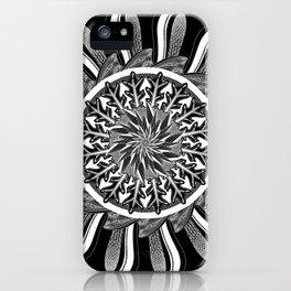 Lemuria (Black) iPhone Case