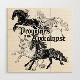 Cavaliers de l'Apocalypse Wood Wall Art
