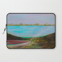 A Boat and a Seamless Sky Laptop Sleeve