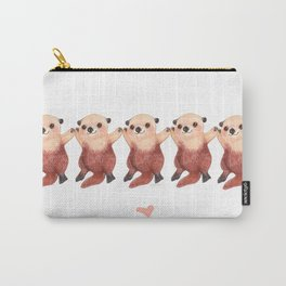 Otterly Adorable Otter Carry-All Pouch