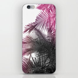 pink and gray iPhone Skin