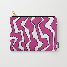 Electric Pink Polynoise Carry-All Pouch
