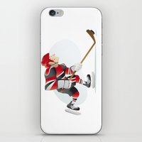 hockey iPhone & iPod Skins featuring Hockey by Dues Creatius