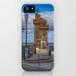 The Rhenish Tower at Lynmouth iPhone Case