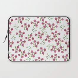 Watercolor roses on white backgroung Laptop Sleeve