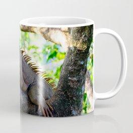 Orange colored Iguana Coffee Mug