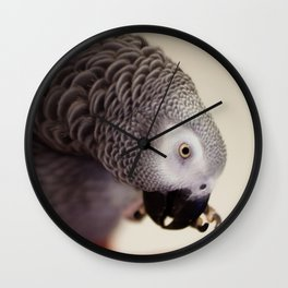 My Nose is Itchy Wall Clock