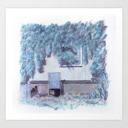 La chaise longue Art Print