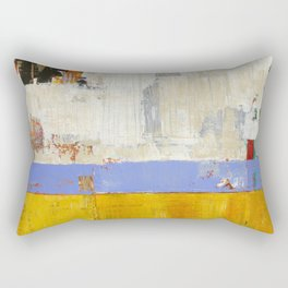 Amenity Abstract Landscape Yellow Modern Shawn McNulty Rectangular Pillow