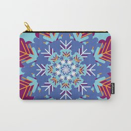 Psychedelic Winter Carry-All Pouch