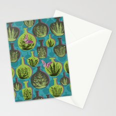 Green Glass Stationery Cards