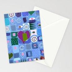 Many Hearts Stationery Cards