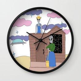 Alien Nation Wall Clock
