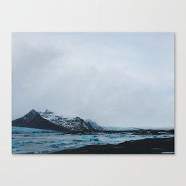 Coast Collective - Iceland Series Glacier Canvas Print