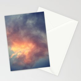 Fiery cloud Stationery Cards