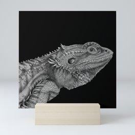 Bearded Dragon Mini Art Print