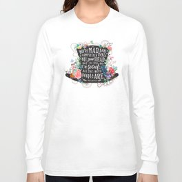 Mad Hatter Long Sleeve T-shirt
