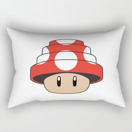 Are We Not Mushroom Rectangular Pillow