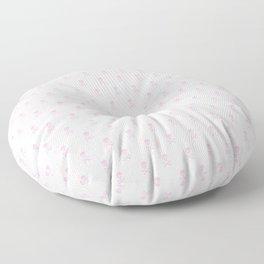 SKULLS PATTERN - LIGHT PINK - LARGE Floor Pillow
